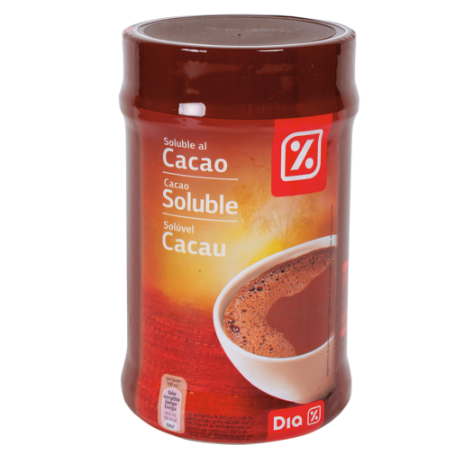 DIA cacao soluble bote 900 gr