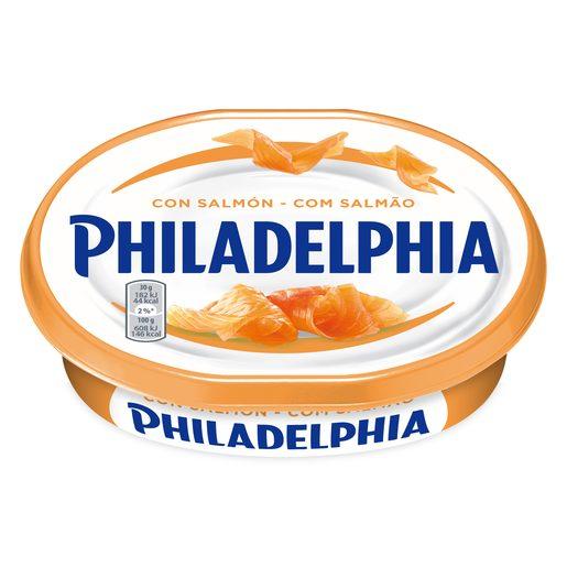 PHILADELPHIA queso para untar con salmón tarrina 150 gr