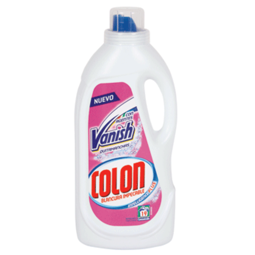 COLON detergente máquina líquido gel vanish botella 19 lavados