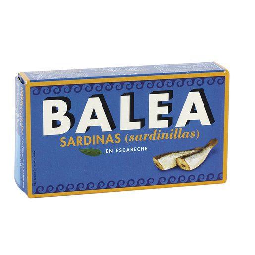 BALEA sardinillas en escabeche 6/8 piezas lata 57 gr