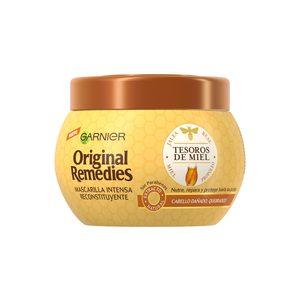 ORIGINAL REMEDIES mascarilla tesoros de miel tarro 300 ml