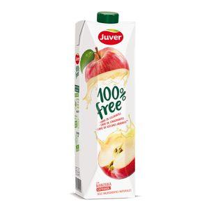 JUVER zumo de manzana 100% free envase 1 lt
