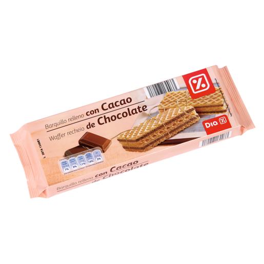 DIA barquillo relleno con cacao paquete 160 gr