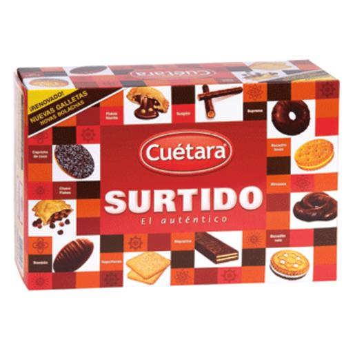 CUETARA surtido de galletas caja 520 gr