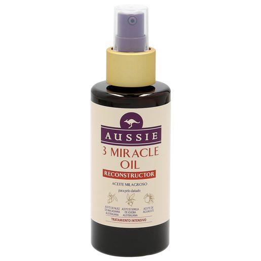 AUSSIE aceite milagroso tratamiento intensivo reconstructor spray 100 ml