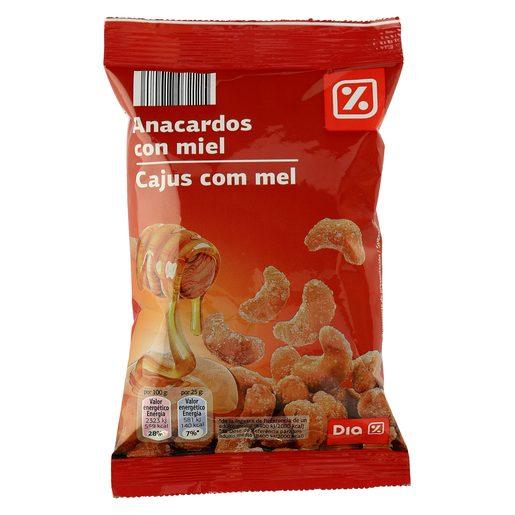 DIA anacardo frito miel bolsa 125GR