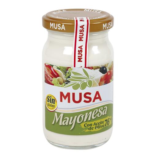 MUSA mayonesa con aceite de oliva frasco 225 ml