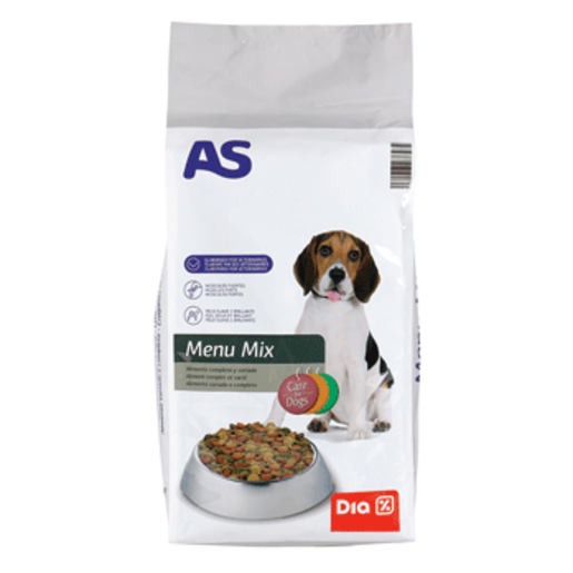 AS alimento para perros multicomponente bolsa 20 kg