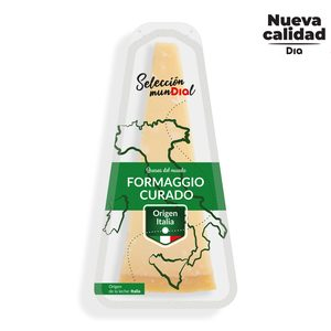 DIA SELECCIÓN MUNDIAL queso curado italiano pieza 200 gr