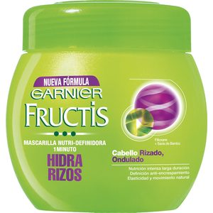 FRUCTIS mascarilla hidra rizos nutri definidora tarro 400 ml