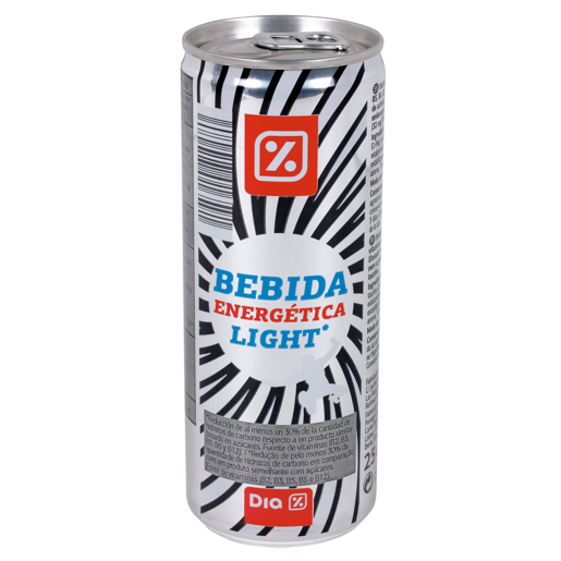 DIA bebida energética light lata 25 cl