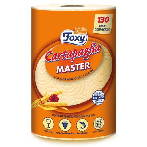 FOXY papel de cocina cartapaglia master rollo 1 ud