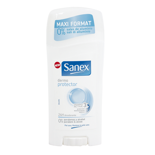 SANEX desodorante stick dermo protección envase 65 ml