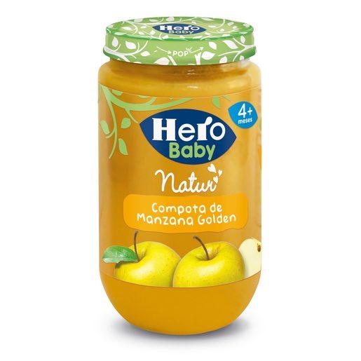 HERO Baby compota de manzana tarrito 235 gr