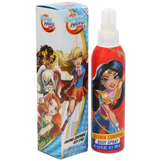SUPER HERO GIRLS colonia corporal spray 200 ml
