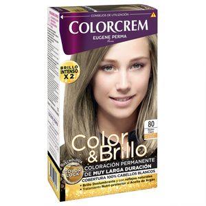 COLORCREM tinte Rubio Claro Nº 80 caja 1 ud