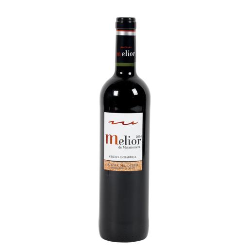 MELIOR ROBLE vino tinto do ribera del duero botella 75 cl