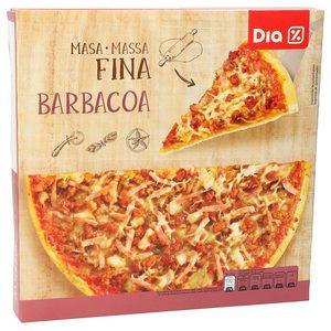 DIA pizza barbacoa masa fina caja 350 gr
