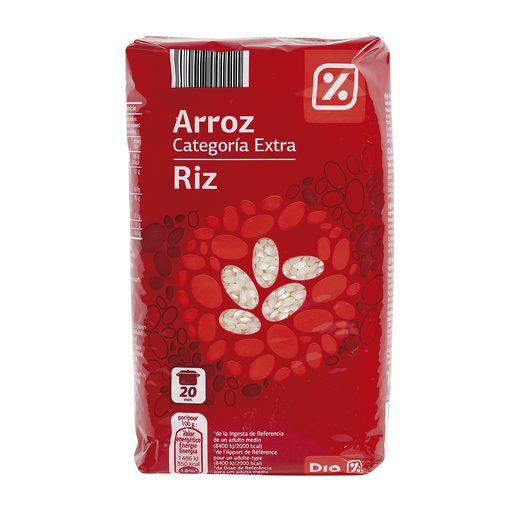 DIA arroz redondo extra paquete 1 Kg