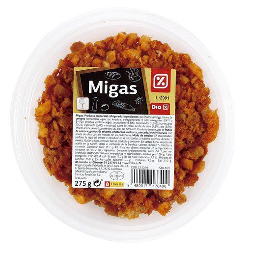DIA migas tarrina 275 gr