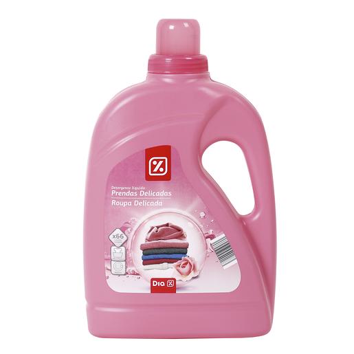 DIA detergente líquido prendas delicadas a mano y a máquina botella 2 lt