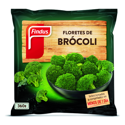 FINDUS brocoli bolsa 360 gr
