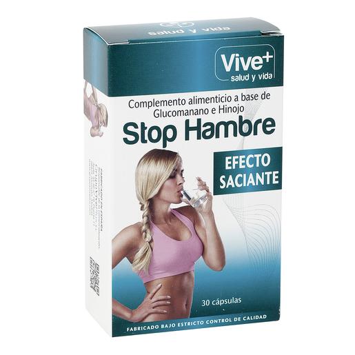 VIVE+ SALUDYVIDA stop hambre bote 30 cápsulas