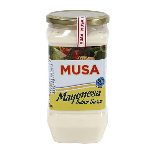 MUSA mayonesa suave frasco 700 ml