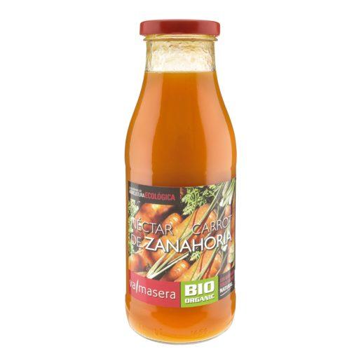 VALMASERA néctar de zanahoria bio botella 500 ml