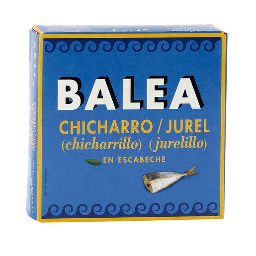 BALEA chicharrillo en escabeche 12/14 piezas lata 187 gr