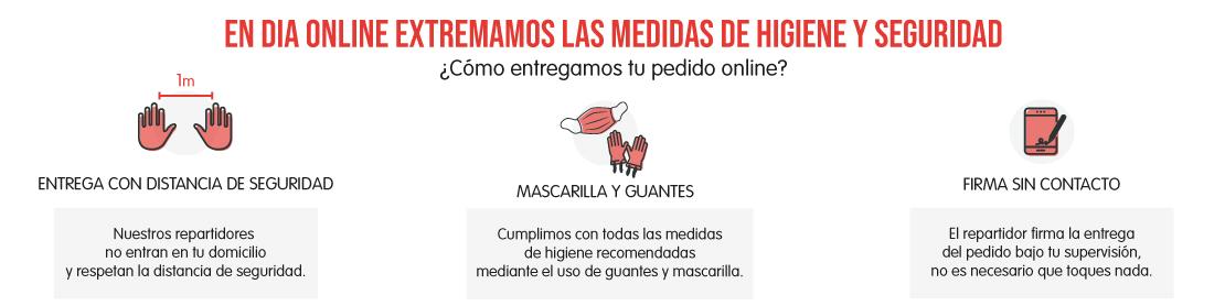 medidas tienda online