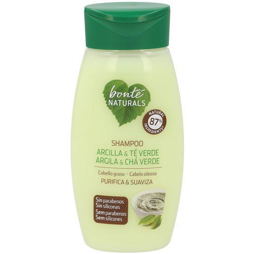 BONTE champú arcilla y té verde cabello graso bote 250 ml