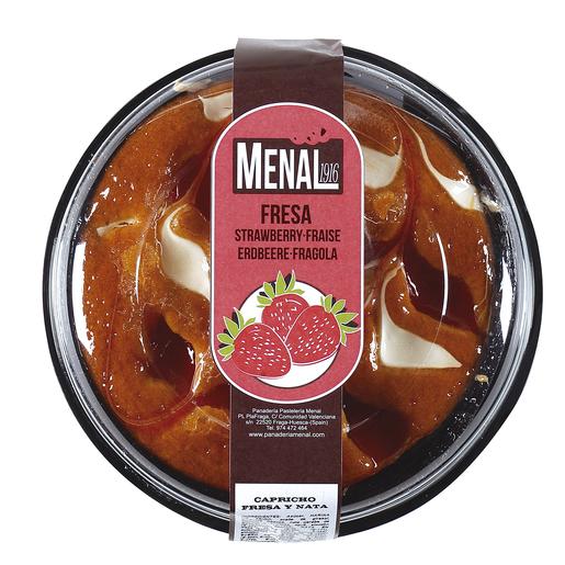 MENAL capricho nata y fresa 300 gr