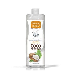 NATURAL HONEY aceite corporal coco addiction bote 300 ml