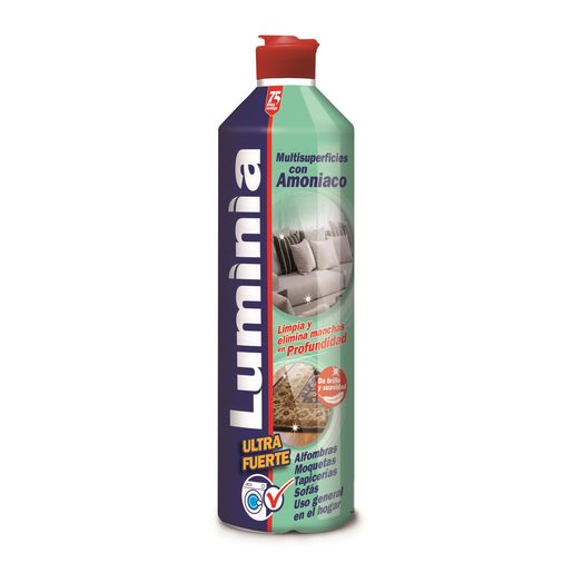 LUMINIA limpiador multisuperficies con amoniaco botella 750 ml