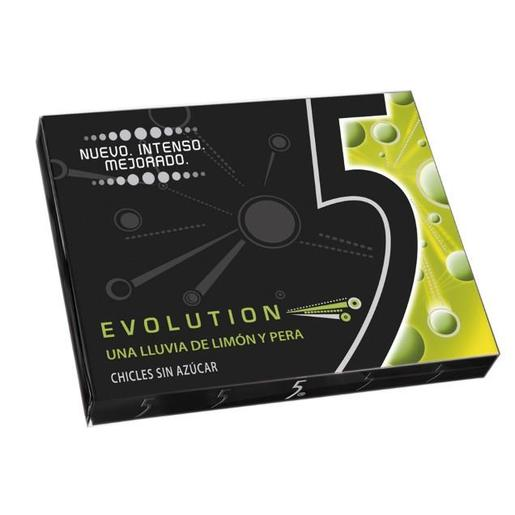FIVE chicle evolution sabor limón/pera paquete 1 ud