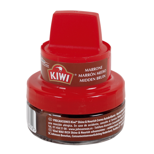 KIWI limpiador de calzado marrón tarro 50 ml