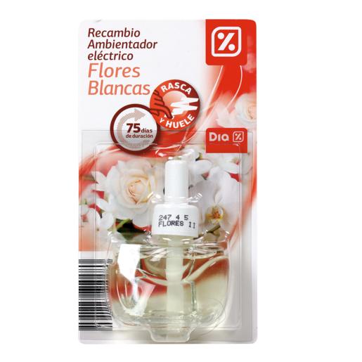 DIA ambientador eléctrico flores blancas recambio 1 ud