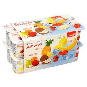 DIA yogur sabores multipack 16 uds