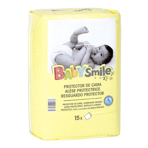 BABYSMILE protector/cambiador de bebé paquete 15 uds