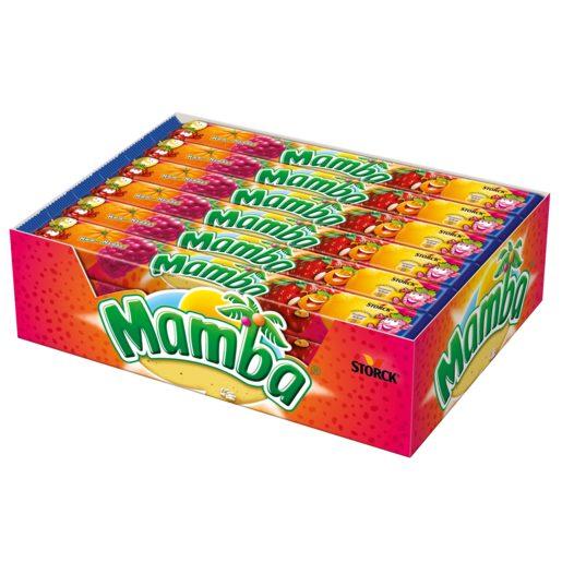 MAMBA caramelos blandos paquete 110 gr