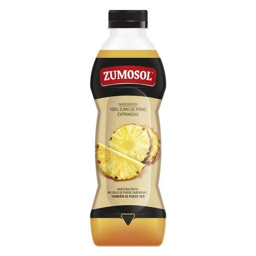 ZUMOSOL zumo exprimido de piña botella 850 ml
