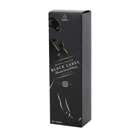 JOHNNIE WALKER whisky black label botella 70 cl