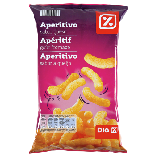 DIA aperitivos queso bolsa 100G