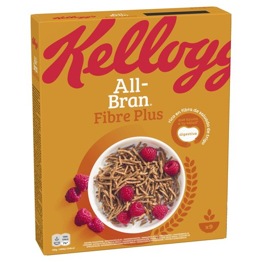 KELLOGGS cereales all bran plus  caja 375 gr