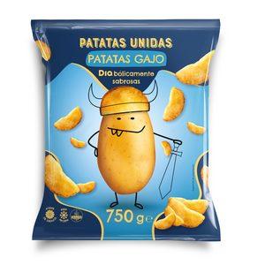DIA PATATAS UNIDAS patatas gajo bolsa 750 gr