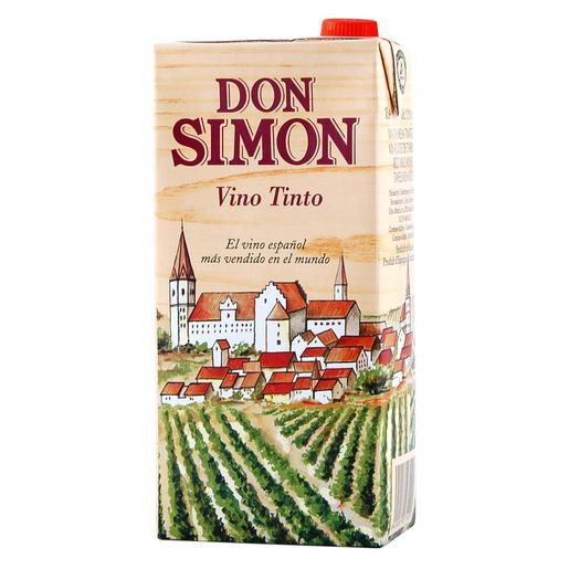 DON SIMON vino tinto envase 1 lt