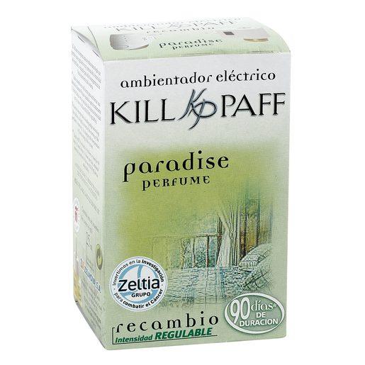 KILL PAFF ambientador eléctrico aroma paraiso recambio 1 ud