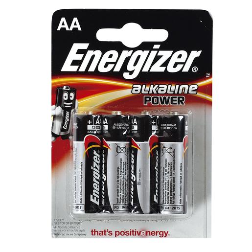 ENERGIZER Power pila alcalina AA E91 blíster 4 uds