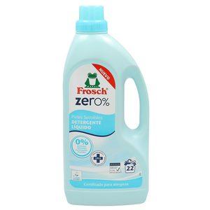 Frosch Zero detergente máquina líquido pieles sensibles botella 22 lv